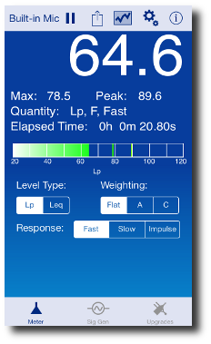 SoundMeter Screenshot